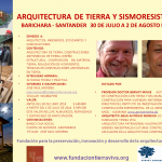 CONTENIDO: ARQUITECTURA DE TIERRA, CONSTRUCCIONES ANTISÍSMICAS DE TIERRA, DISEÑO ESTRUCTURAL, COMPOSICIÓN DEL MATERIAL TIERRA, REALIZACIÓN DE 4 DIFERENTES TÉCNICAS DE CONSTRUCCIONES ANTISÍSMICAS EN TIERRA